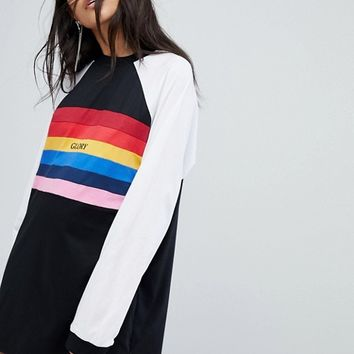 The Ragged Priest Glory T-Shirt Dress at asos.com