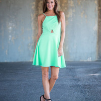 Down Town Dancing Dress, Mint