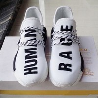 NMD Human Race Runner Shoes Yellow Hu man Pharrell Williams nmd Size 13 NMD Boost Running Shoes Orange Black Red