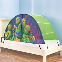 Kid's TMNT(TM)  Ninja Turtles Play Bed Tent For Sleeping Or Playing Bedroom