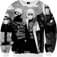 Naruto Kakashi Minato Jiraiya created by WhiteFang | Print All Over Me