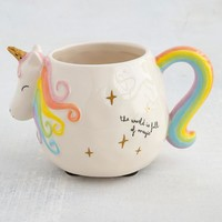 Unicorn Folk Mug Pastel