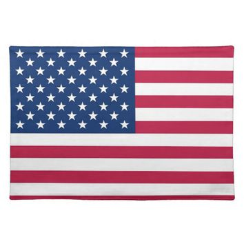 USA Flag American MoJo Placemat