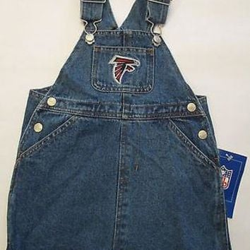 Atlanta Falcons Reebok Infant Jean Skirt Jumper Size 18 Months