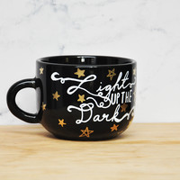 Light Up The Dark Black 11oz Mug