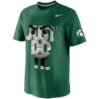 Nike Michigan State Spartans DNA T-Shirt - Green