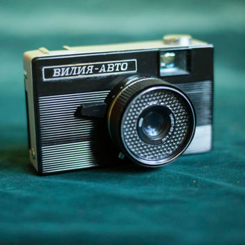 VILIA AUTO Soviet camera/Small-format camera ussr/Camera Collection/Retro camera/35 Mm Film Camera