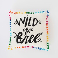 Wild and Free Party Pillow | Altar'd State