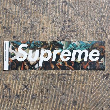 Undercover Box Logo Sticker Black FW16