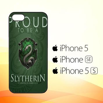 Proud To Be Slytherin F0574  iPhone 5|5S|SE Case