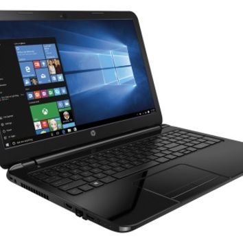"HP - 15.6"" Touch-Screen Laptop - Intel Core i3 - 6GB Memory - 750GB Hard Drive - Black Licorice"