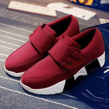 Hard Court New Canvas Women Sneakers Walking Shoes Hoop & Look Message Female Sports