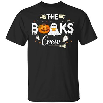 Funny Boo Books Crew Halloween Gift For Books Lover