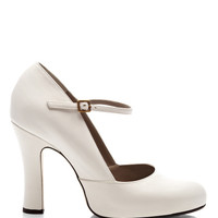 Leather Mary-Jane Pumps by Marc Jacobs