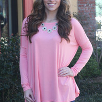 PIKO top in Pink
