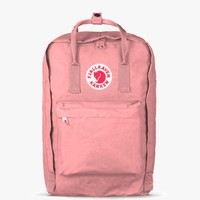 "fjallraven - the kanken 15"" laptop backpack - pink"
