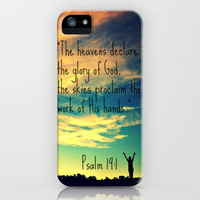 God's Handiwork iPhone Case by Caleb Troy | Society6