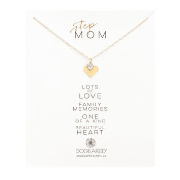 "DOGEARED ""STEP MOM"" NECKLACE"