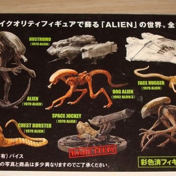 Konami Alien SF Movie Selection Vol 1 8 Trading Figure Used