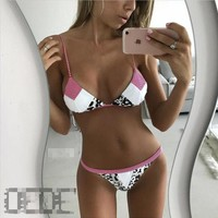 Beach Swimsuit Hot Summer New Arrival Sexy Swimwear Print Ladies Bikini