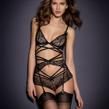 Sale Lingerie by Agent Provocateur - Sandra Suspender