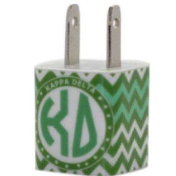 Kappa Delta Chevron Phone Charger