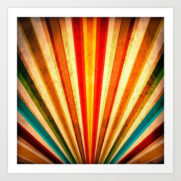 Fabulous Sun Shine Art Print by Funkkeyser
