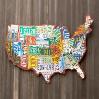 LICENSE PLATE USA
