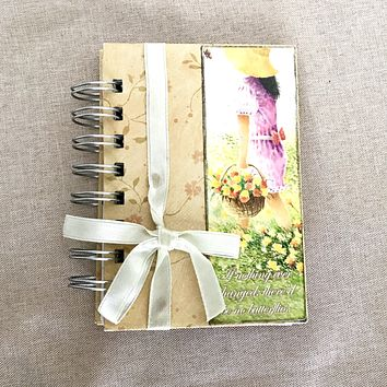 Butterfly Changes - 3x5 Lined - Bullet Journal - Planner - Spiral Bound