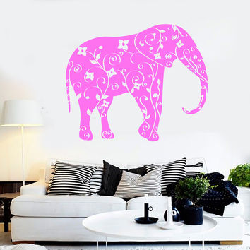 Best Floral Elephant Sticker Products on Wanelo