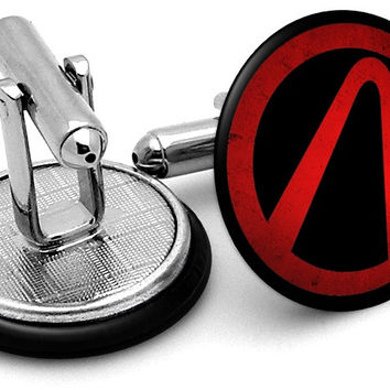 Borderlands Vault Logo Cufflinks