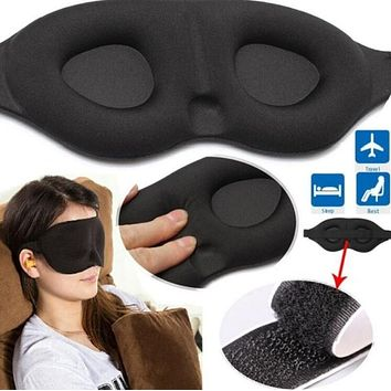 1 PC 3D Sleeping Eye Mask Travel Rest Aid Eye Sleep Mask Cover Eye Patch Case Blindfold Eyeshade Massage Eye Care Beauty Tool