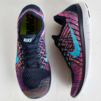 Nike Womens Free 4.0 Flyknit Running Sneaker - Urban Outfitters