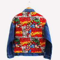 Marvel Studded Jacket