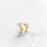 Seoul Little 24k Gold-Plated Dollar Post Earring - Urban Outfitters