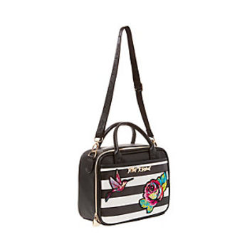 BELLE ROSE LUNCH TOTE: Betsey Johnson
