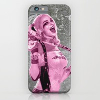 Suicide Harley on the wall iPhone & iPod Case by S.Levis