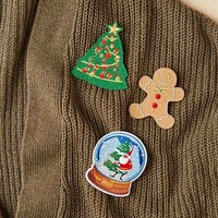 Instant Ugly Sweater Pin Set