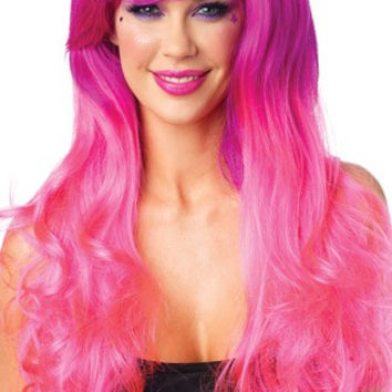 Pink Two Tone Wig