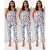 Champion Newest Fashion Women Casual Overalls Jumpsuit