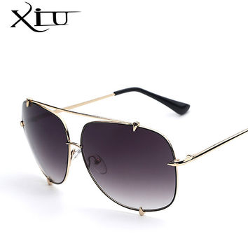 Fashion Metal Sunglasses Women New Men's Designer Sun glasses Vintage