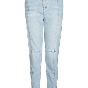 MOTO Seam Detail Mom Jeans | Topshop