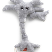 Quirky Brain Cell Plush by ModCloth