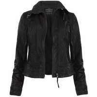 AllSaints Belvedere Leather Jacket