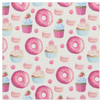 Strawberry Sweets Fabric