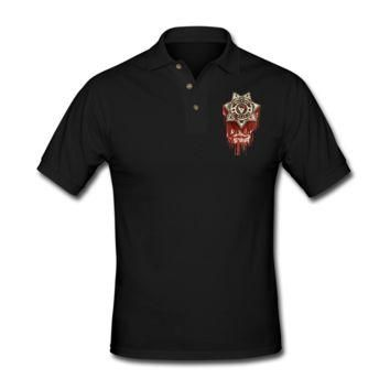 The Walking Dead Men's Polo Shirt - Men's Custom Polo Shirts