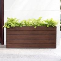 Belham Living Winfield Rectangle Planter - 39W x 17D x 17H in. | www.hayneedle.com