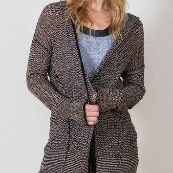 Lissa Hooded Cardigan