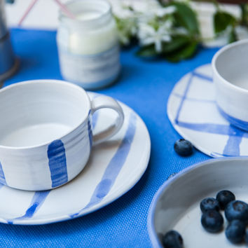 Buongiorno - Handmade Cup and Plate