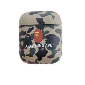 Bape Protective Apple Airpod Case - Camo